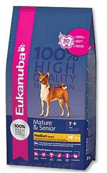 Eukanuba Mature&Senior Medium Breed 3 kg - Granule pro psy