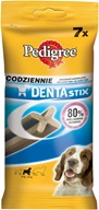 Pedigree Denta Stix Medium Breed 7 ks 180 g - Dentální pamlsky