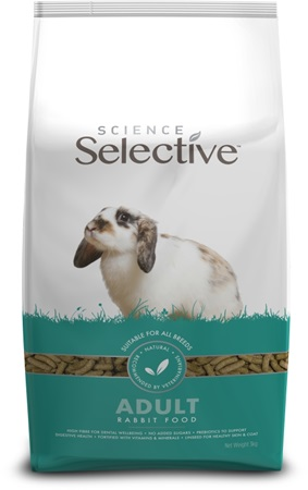Supreme Science®Selective Rabbit - králík adult 3 kg - Krmivo