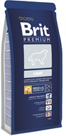 Brit Premium Dog Light 15 kg - Granule pro psy Brit, Brit Care a Brit Premium