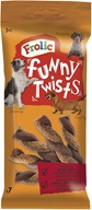 Frolic snack dog - Funny Twists 140 g - Žvýkačky