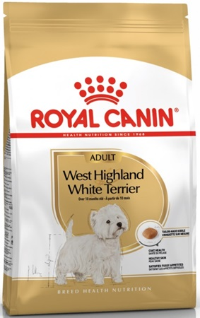 Royal Canin BREED West High White Terrier 3 kg - Granule pro psy