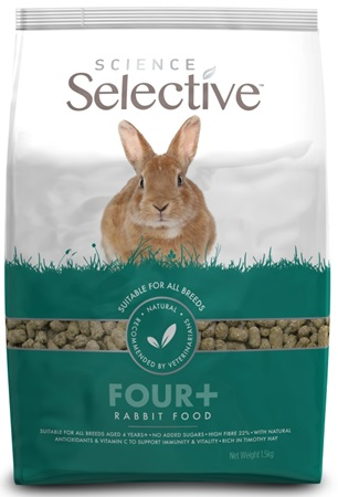 Supreme Science®Selective Rabbit - králík senior 1,5 kg - Krmivo