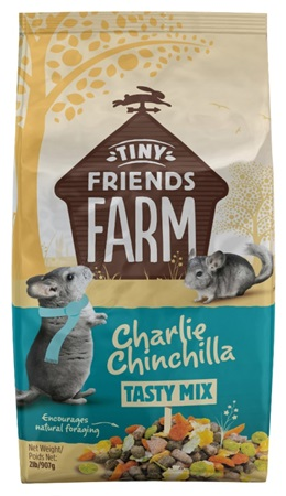 Supreme Tiny FARM Friends Chinchilla - činčila 907 g - Krmivo