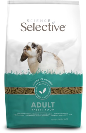 Supreme Science®Selective Rabbit - králík adult 5 kg - Krmivo