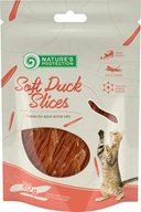 Nature´s Protection Cat Snack Soft Duck Slices 80 g