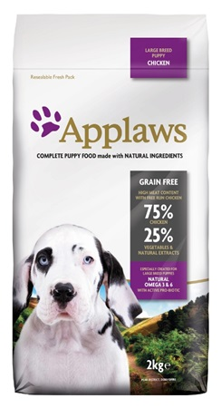Applaws Dog Dry Puppy Large Breed Chicken 2 kg - Granule pro psy
