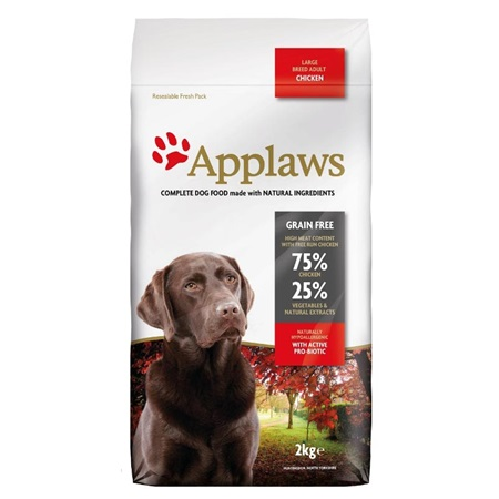 Applaws Dog Dry Adult Large Breed Chicken 2 kg - Granule pro psy