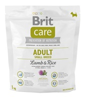 Brit Care Dog Adult Small Breed Lamb & Rice NOVÝ 1 kg - Granule pro psy Brit, Brit Care a Brit Premium