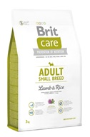 Brit Care Dog Adult Small Breed Lamb & Rice NOVÝ 3 kg