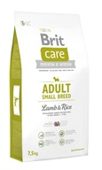 Brit Care Dog Adult Small Breed Lamb & Rice NOVÝ 7,5 kg - Granule pro psy Brit, Brit Care a Brit Premium
