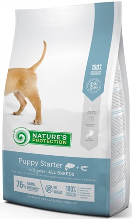 Nature´s Protection Dog Dry Starter 2 kg - Granule pro psy