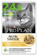 PRO PLAN Cat kaps. Sterilised Chicken 24 x 85 g