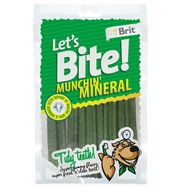 Brit Care DOG Let´s Bite Munchin´Mineral NOVÝ 105 g - Žvýkačky