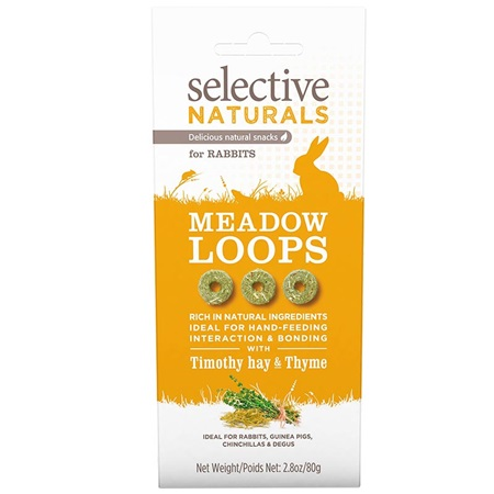 Supreme Selective snack Naturals Meadow Loops 60 g - Pamlsky