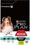 PRO PLAN Dog Adult Medium Sensitive Digestion Lamb 3 kg