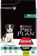 PRO PLAN Puppy Medium Sensitive Digestion Lamb 3 kg