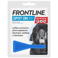 Frontline spot-on dog XL sol 1 x 4,02 ml - Pipety (Spot On)