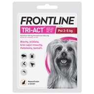 Frontline TRI-ACT spot-on dog XS a.u.v. - Pipety (Spot On)