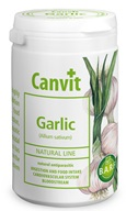 Canvit Natural Line Garlic plv 150 g - Podpora imunity