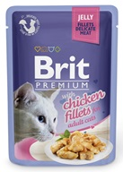 Brit Premium Cat kaps. Delicate Fillets in Jelly with Chicken 85 g