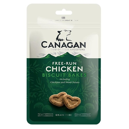 Canagan Dog Biscuit Bakes Chicken 150 g - Pamlsky pro psy