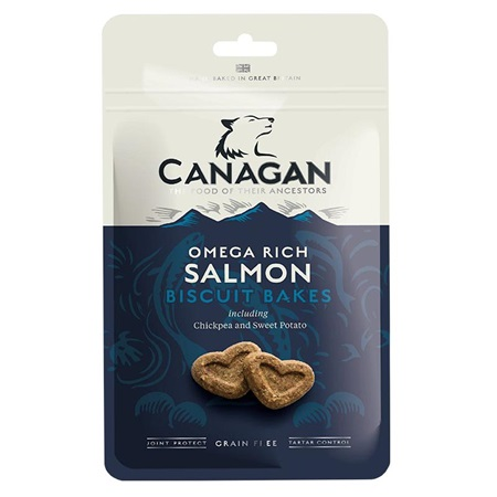 Canagan Biscuit Bakes Salmon 150 g - Pamlsky pro psy