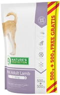 Nature's Protection Dog Dry Adult Mini Lamb 500 + 500 g