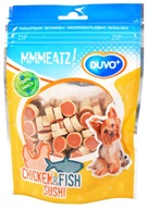 Duvo+ dog Mmmeatz! Chicken & Fish Sushi 100g