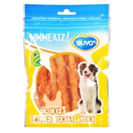 Duvo+ dog Mmmeatz! Twisted dental sticks 100g