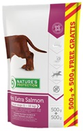 Nature's Protection Dog Dry Adult Mini Extra Salmon 500 g + 500 g - Granule pro psy Nature's Protection