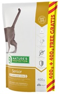Nature´s Protection Cat Dry Senior 400 g + 400 g