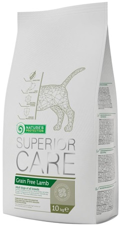 Nature's Protection Dog Dry Superior Grain Free Lamb 10 kg - Granule pro psy