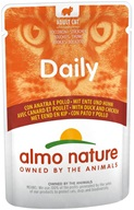 Almo Nature Daily Menu kuře a kachna 70 g