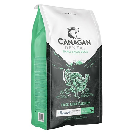 Canagan Dog Dry Small Breed Dental 2 kg - Granule pro psy