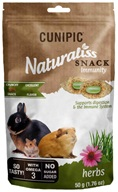 Cunipic Naturaliss Snack Immunity pro drobné savce 50 g