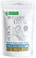 Nature's Protection Superior Care Dog Snack králičí uši s rybou 75 g - Sušiny