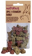 Rosewood Naturals grain free biskvity - Apple, stawberry bunnies 100 g - Činčila