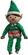 KONG Holiday Floppy Knots elf M
