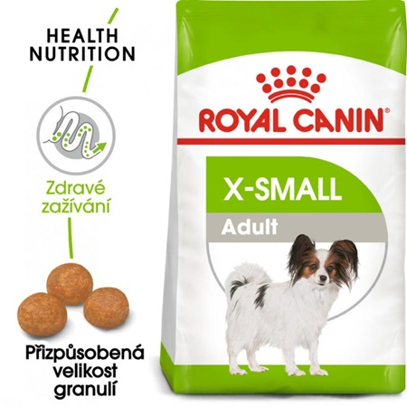 Royal Canin - Canine X-Small Adult 500 g - Granule pro psy