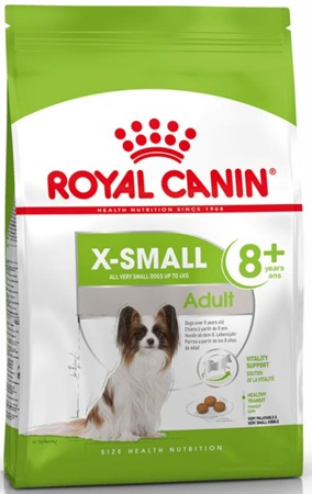 Royal Canin - Canine X-Small Adult +8 500 g - Granule pro psy