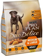 PRO PLAN Dog Adult Duo Délice Chicken 2,5 kg