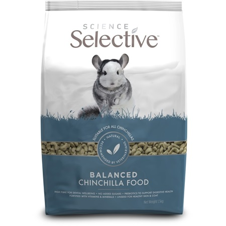 Supreme Science®Selective Chinchilla - činčila 1,5 kg - Krmivo