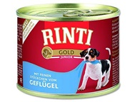 Rinti Gold dog konz. - Junior drůbeží 185 g