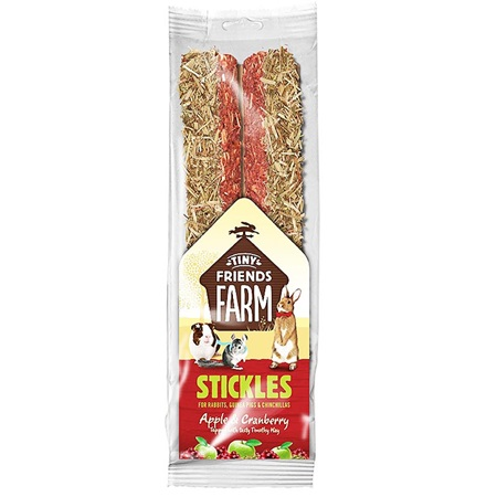 Supreme Tiny FARM Stick.Apple,Cranberry-tyč býložr 2 ks, 100 g - Pamlsky