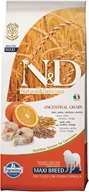 N&D Low Grain Dog Adult Maxi Codfish & Orange 12 kg - Granule pro psy