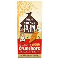 Supreme Tiny FARM Snack Mega Crunchers - králík 3 ks, 75 g
