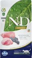 N&D Grain Free Adult Lamb & Blueberry 1,5 kg