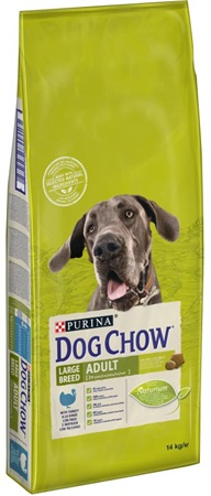 Purina Dog Chow Adult Large Breed Turkey 14 kg - Granule pro psy
