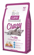 Brit Care Cat Crazy I´m Kitten 2 kg - Granule pro koťata